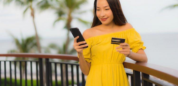 Carte de crédit pour les vacances ou voyages