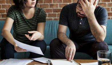 Impact d'une dette sur la vie en couple